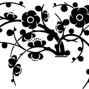 Sticker De Perete Buchet De Flori