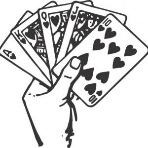 Sticker De Perete Carti De Joc