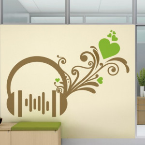 Sticker De Perete Casti Florale