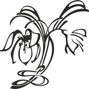 Sticker De Perete Crini Decorativi