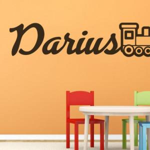 Sticker De Perete Cu Nume - Darius