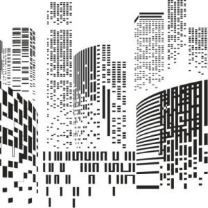 Sticker De Perete Decor Urban