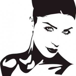 Sticker De Perete Diva 4