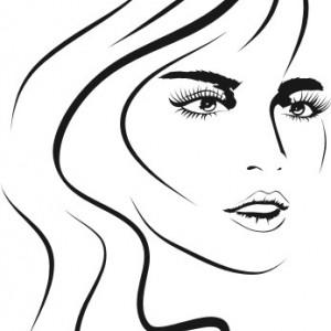 Sticker De Perete Face Girl