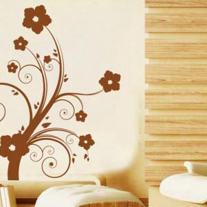 Sticker De Perete Floare Artistica
