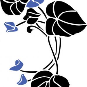 Sticker De Perete Floare Unica