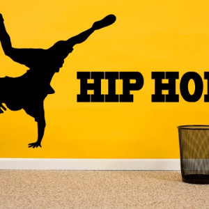 Sticker de Perete Hip Hop