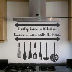 Sticker De Perete Kitchen