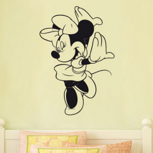 Sticker De Perete Minnie Mouse 2