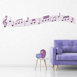 Sticker de Perete Music Sheet Notes