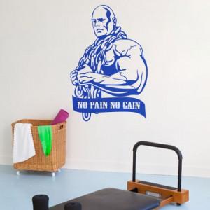 Sticker De Perete No Pain No Gain