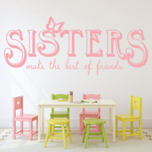 Sticker de Perete Sisters Friends