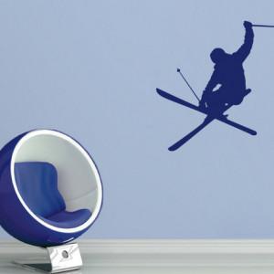Sticker De Perete Ski