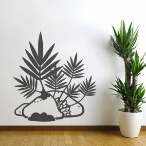 Sticker De Perete Vegetatie