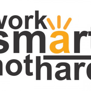 Sticker De Perete Work Smart