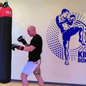 Sticker Kick Boxing