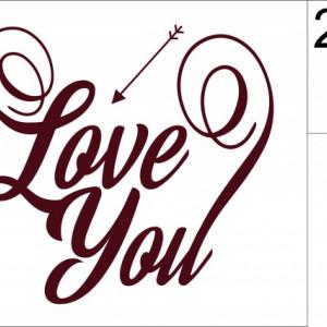 Sticker - Love You