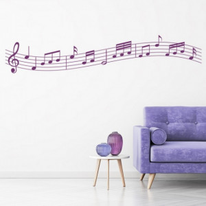 Sticker Music Sheet Notes