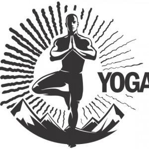 Sticker Yoga Spirit