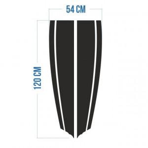 Stickere Dungi Tip Strips Pentru Capota Model 2