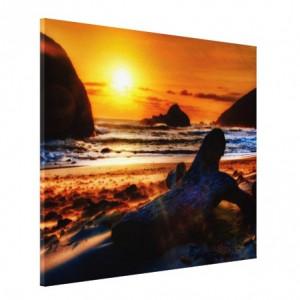 Tablou canvas - apus la mare 02