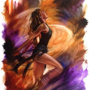 Tablou canvas Dans sportiv
