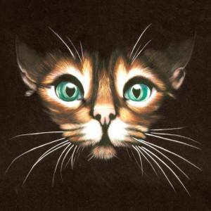 Tablou Canvas Efect Pictura Pisica Egipteana