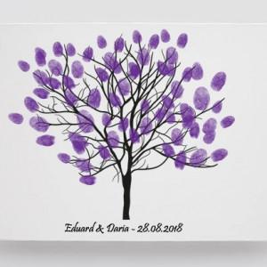 Tablou Canvas Finger Print Tree Art