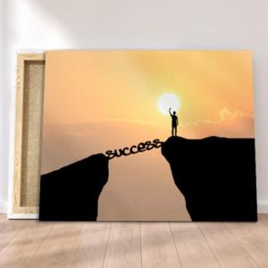 Tablou canvas motivational - Success