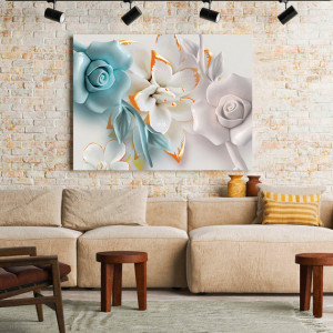 Tablou Canvas Pastel Flower
