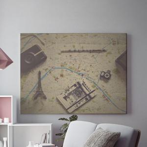 Tablou Canvas Planning a trip