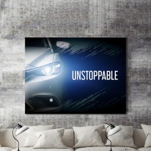 Tablou motivational - Unstoppable