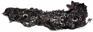 Tatuaj temporar Mana-Armura- 15x40cm