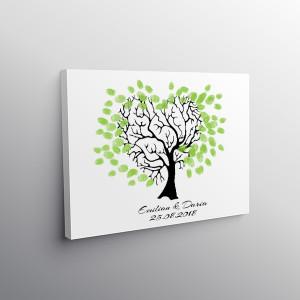 Finger print tree queen