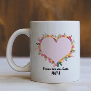 Cana Cu Mesaj Si Poza - Pentru Cea Mai Buna Mama