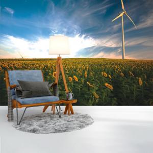 Foto tapet Sunflowers