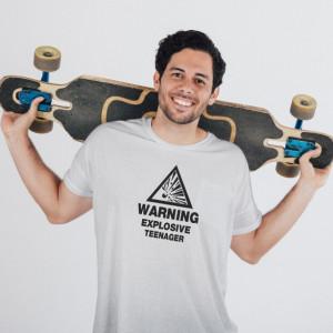 Imprimeu tricou EXPLOSIVE TEENAGER