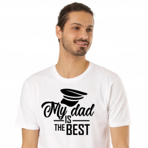 Imprimeu tricou Tatal meu este cel mai bun - My dad is the best