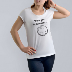 Imprimeu tricou TO THE MOON AND BACK (EA)