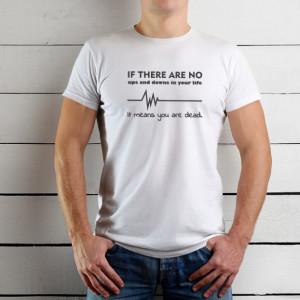 Imprimeu tricou UPS AND DOWNS