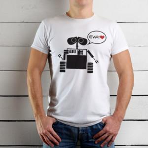 Imprimeu tricou WALL-E