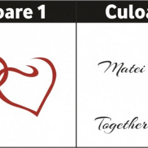 Inimi cu nume - Together Forever