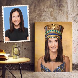 Portret personalizat cu poza ta - Cleopatra