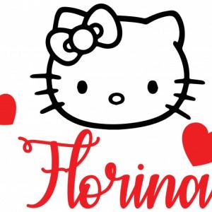 Sticker cu nume - Florina