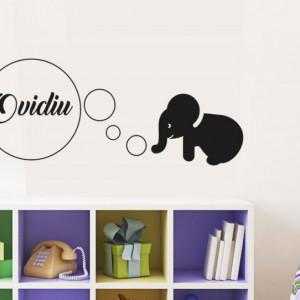 Sticker cu nume - Ovidiu