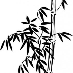 Sticker De Perete Bambus 02