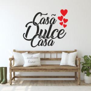 Sticker de Perete casa dulce casa