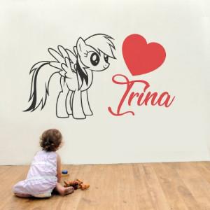 Sticker De Perete Cu Nume - Irina
