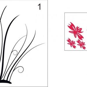 Sticker De Perete Flori De Vara