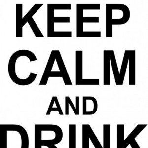 Sticker De Perete Keep Calm And Drink Beer
